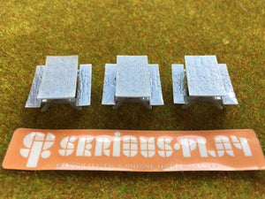 Picnic Benches - Detailed Resin Accessories