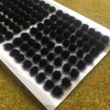 Black 4mm - Standard Grass Tufts