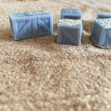 Crates Set A - Resin Scenics