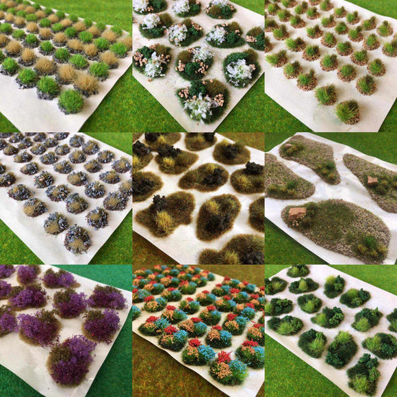 Bulk buy Custom Diorama Tufts (pack of 20)