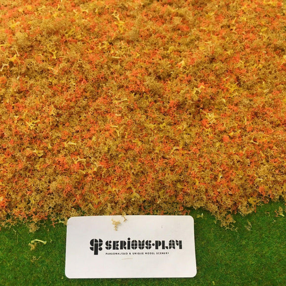 Serious-Play Dry Autumn 'Fine Leaf Foliage' Modelling Scatter.