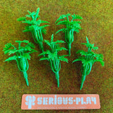 Green Plastic Sprouting Shrubs (B)
