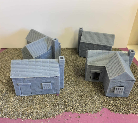 Stone Houses - Masons District - Resin Buildings