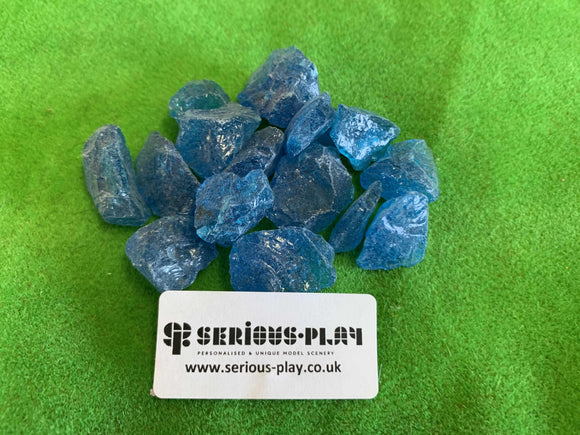 Fantasy Blue Ice Chunks - Modelling Material