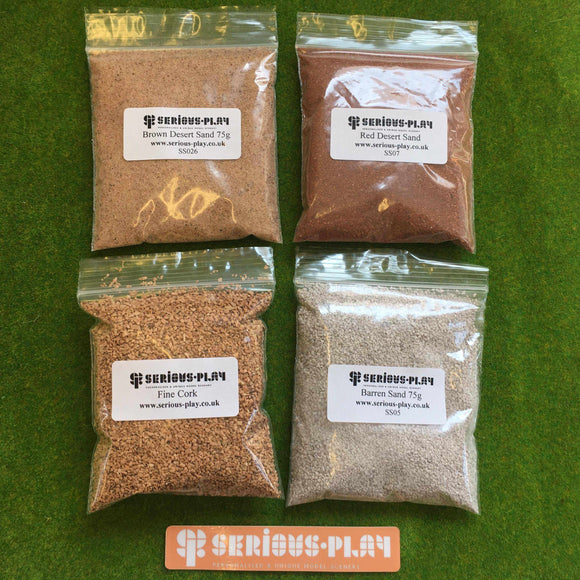Basing Material Set F - Modelling Materials