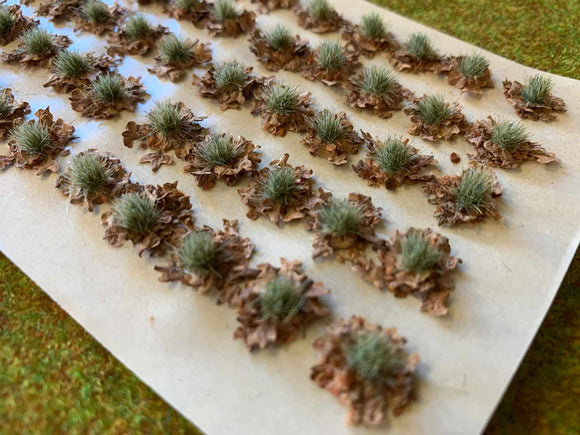 Natural Leaf Litter Tuft Dioramas