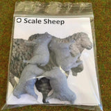 Serious-Play O Scale Sheep - Resin Animals