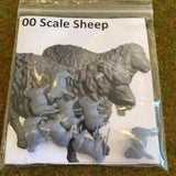 Serious-Play 00 Scale Sheep - Resin Animals