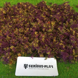 Serious-Play Purple Woodland Mixed 'Fine Leaf Foliage' Modelling Scatter.