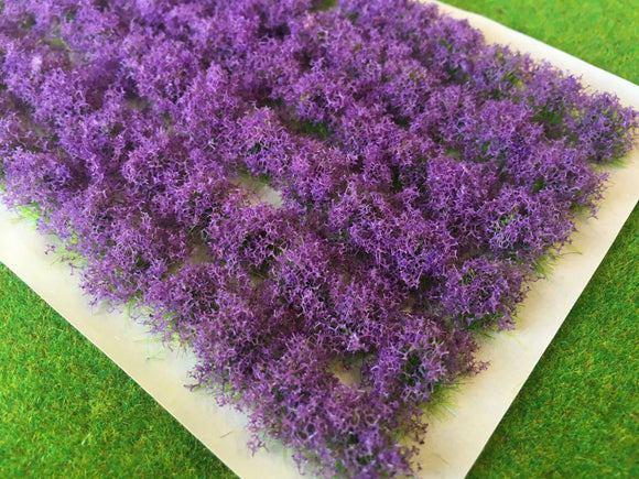 Lavender Flower Bush Tufts