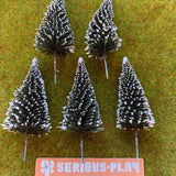 Christmas Trees (approx. 8cm) - 5 Trees