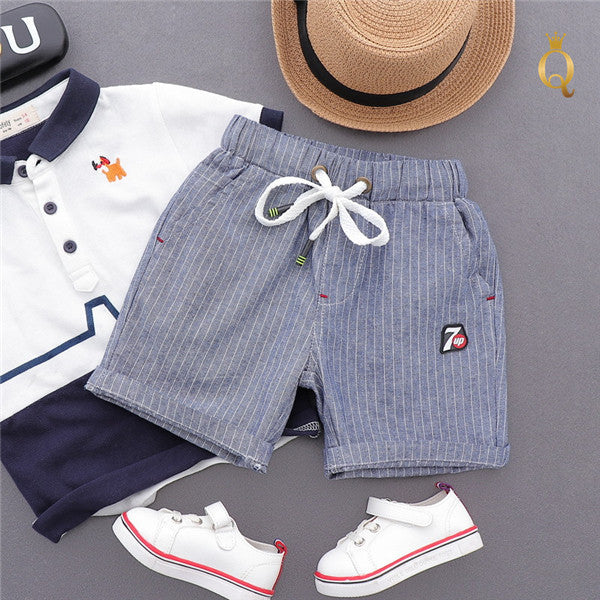 Boy's Pull-Up Summer Shorts