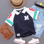 Boy's Summer Polo T-Shirt