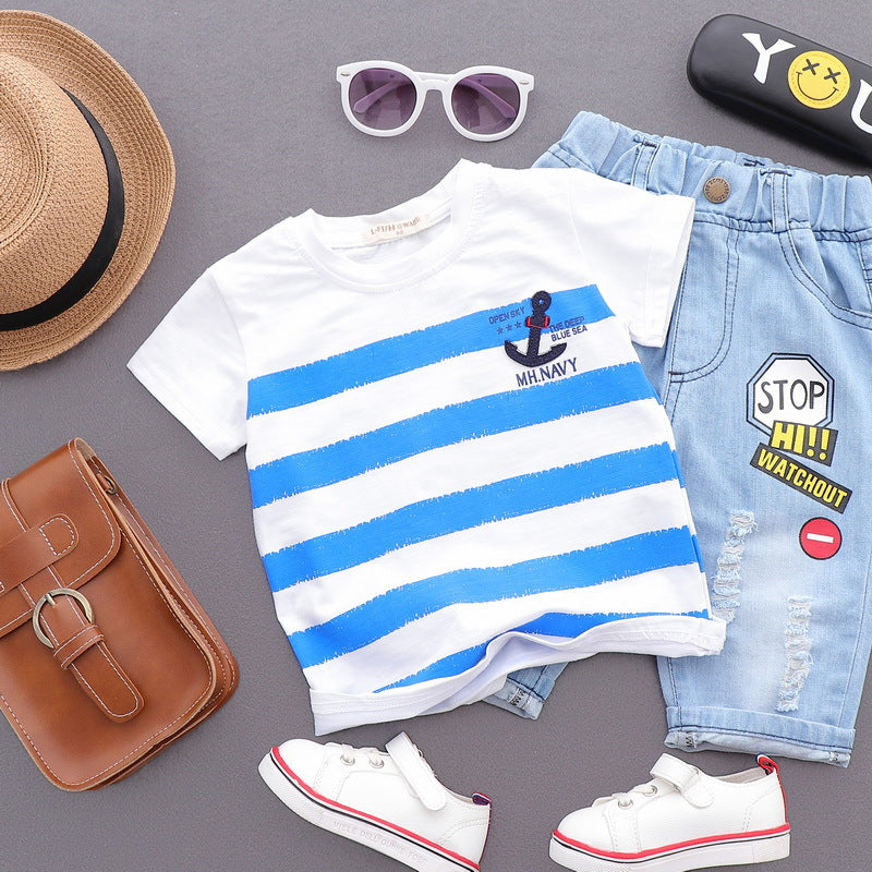 Boy's Stripe Summer T-Shirt