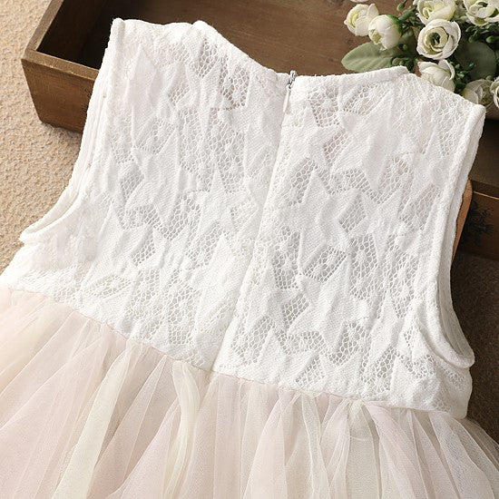 Girls Bodices And Tulle Dress - - In Transit
