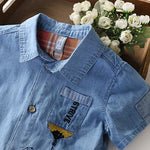 Boys Denim Summer Shirt - - In Transit