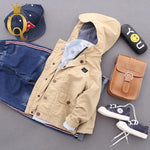 Boys Autumn Parka Jacket - -