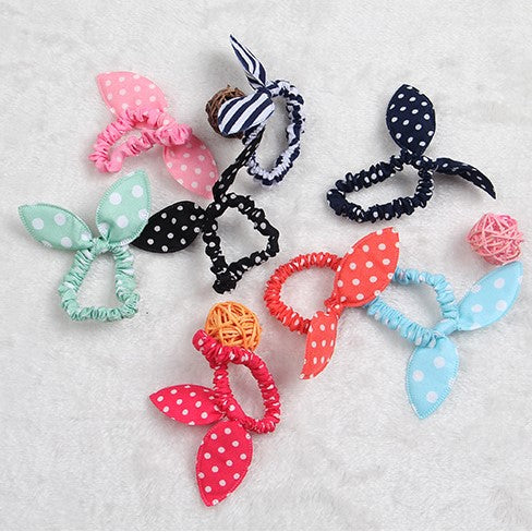 Girl's Rabbit Ear Elastic Band