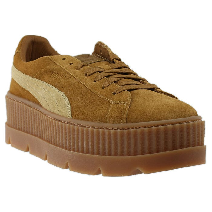 watch 5ebc2 41982 Women's Puma Fenty by Rihanna Suede Cleated Creeper Beige ...