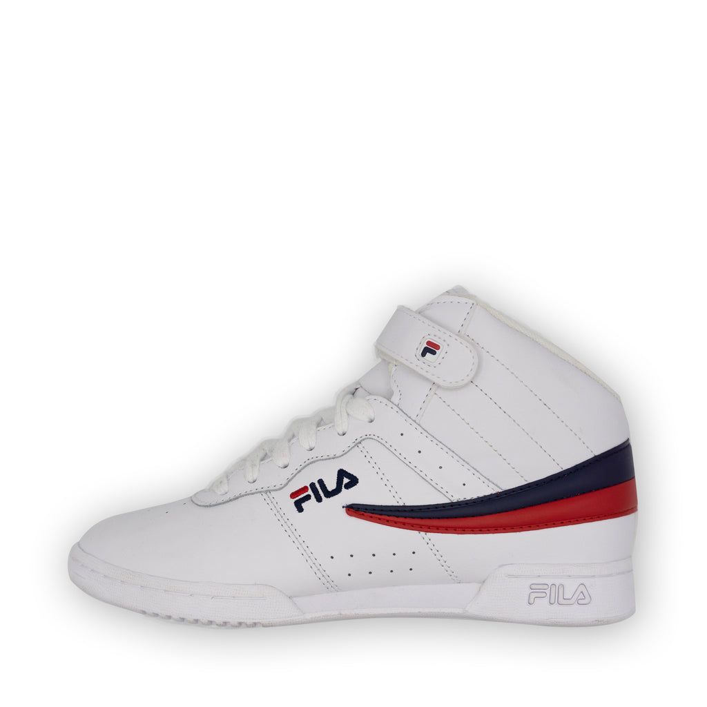 FILA Big Kids High Tops White