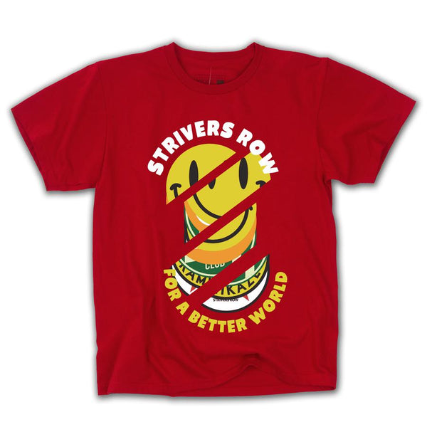 SMILE SS TEE (SPORT SCARLET RED)