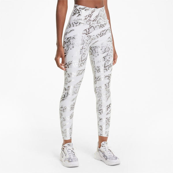 Puma Untamed Women's AOP 7/8 Training White Leggings
