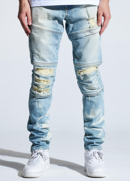 Kurt Denim (Light Indigo) - Crysp Denim