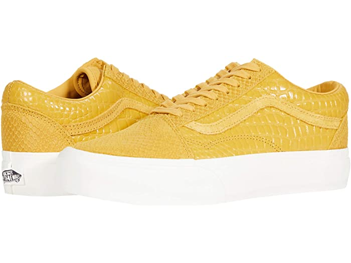 Vans Old Skool Emboss/Honey Women's Platform