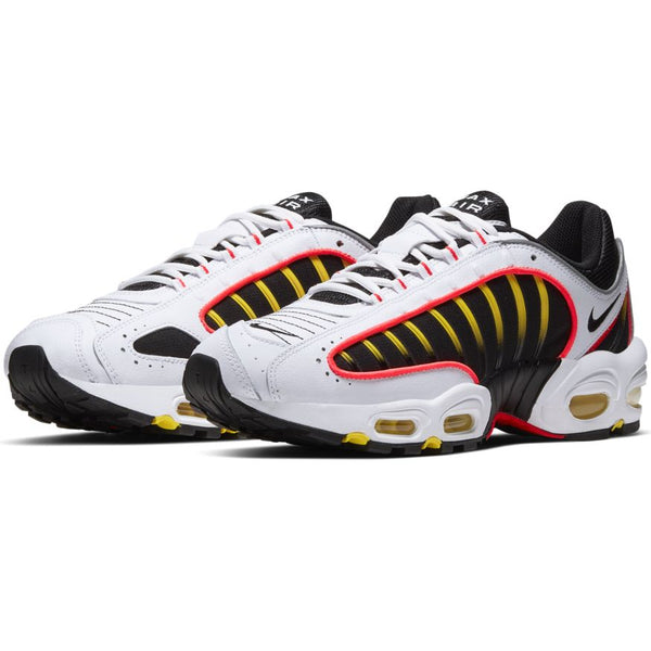 Nike Air Max Tailwind 4 White Black Crimson Yellow