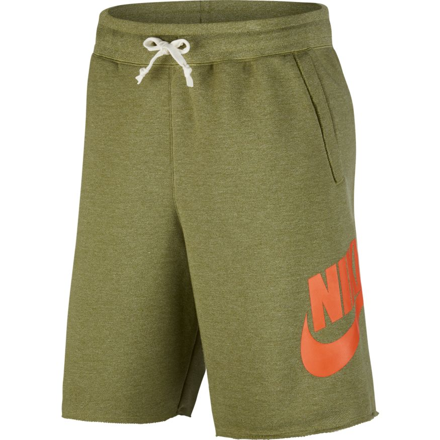 Nike Sportswear Alumni Men's French Terry Thermal Green Shorts