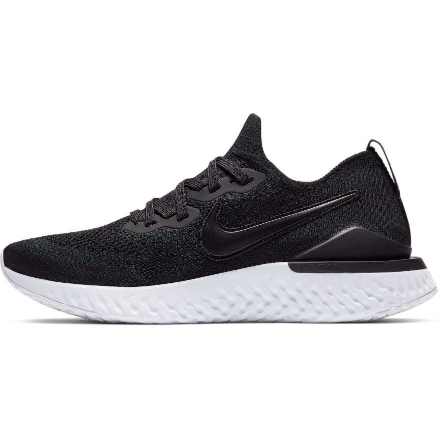 Nike Epic React Flyknit 2 'Black White' Women's Shoe