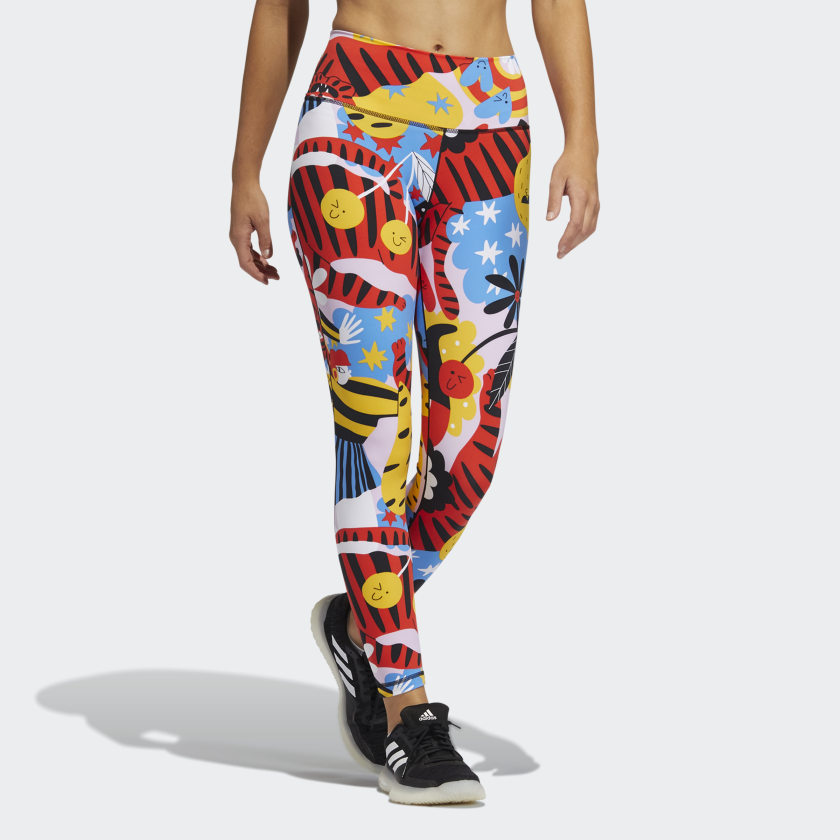 adidas Believe This 7/8 Tights - Multicolor
