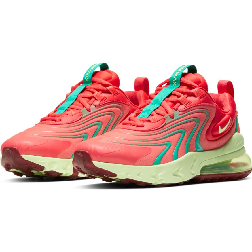 Nike Air Max 270 React ENG Magic Ember Big Kid's Shoe
