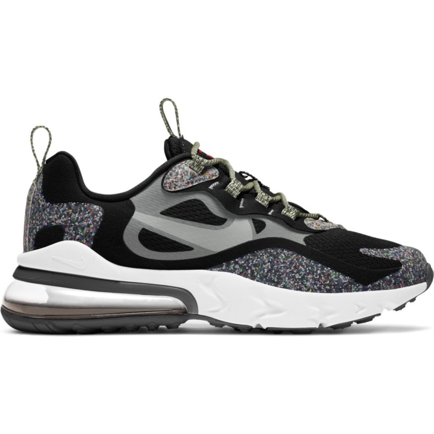 Nike Air Max 270 React SE Grind Black (GS)