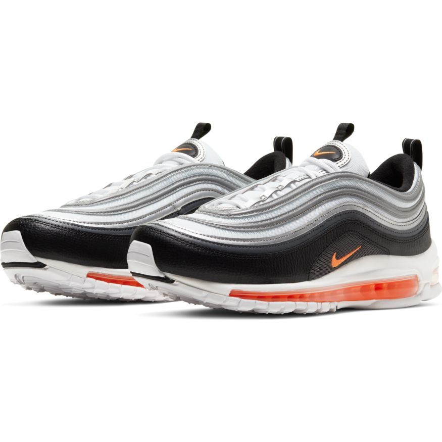Nike Air Max 97 Black Orange Men's Shoe
