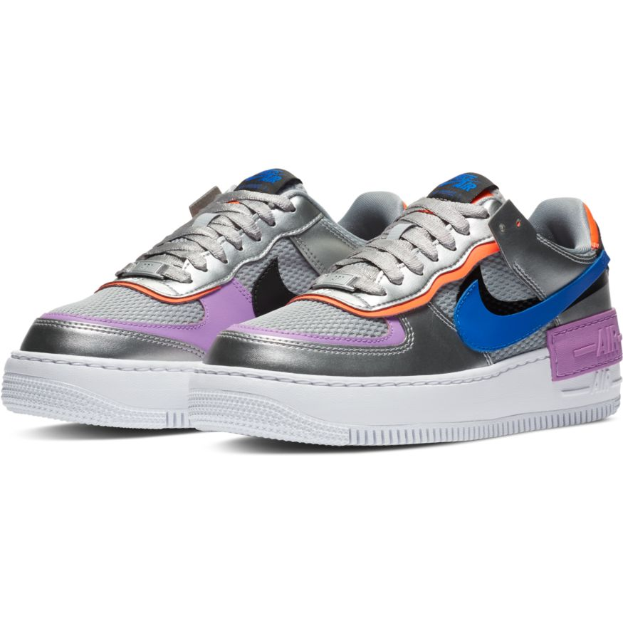 Nike Air Force 1 Shadow Metallic Silver (W)