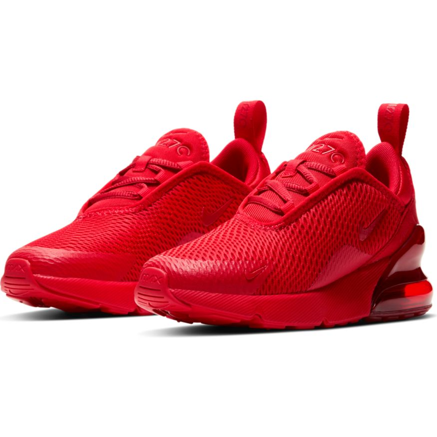 Nike Air Max 270 University Red (PS)   Active Athlete 88