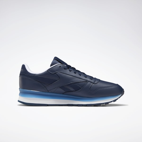 Reebok Men's Classic Leather Blue