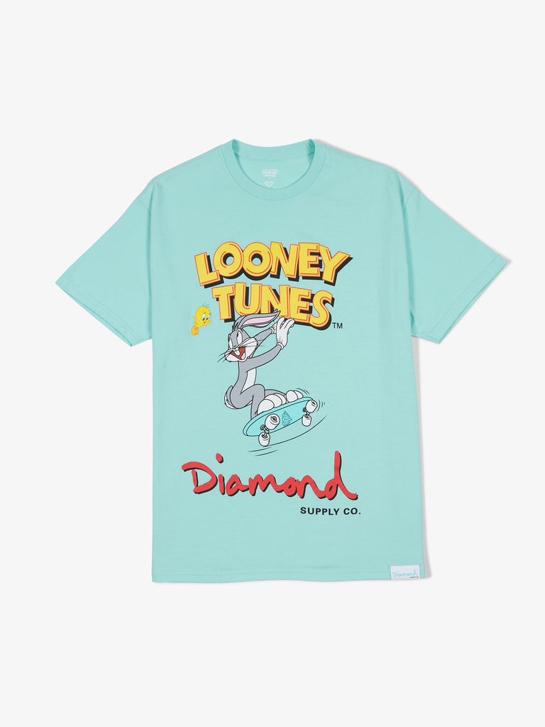 Diamond X Looney Tunes Tee - Diamond Blue
