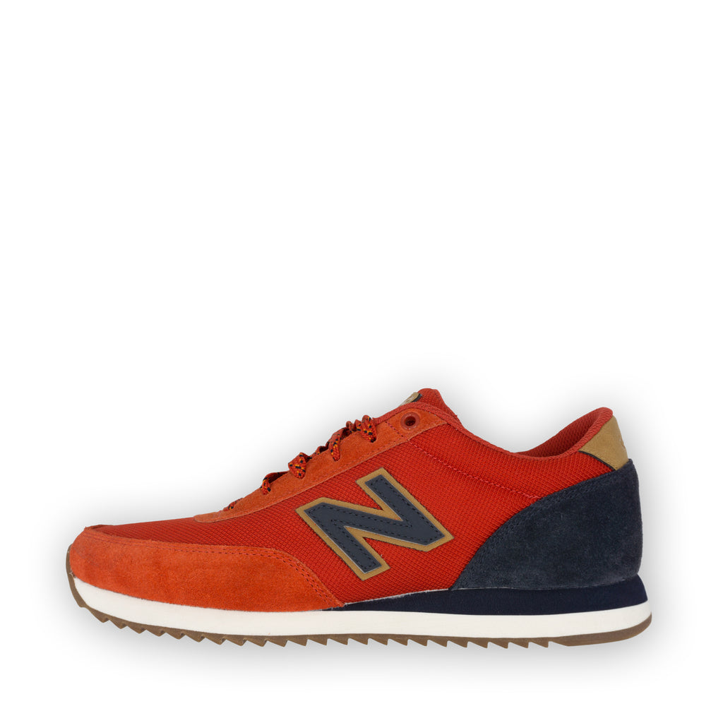 New Balance 501 Men (orange/navy suede)
