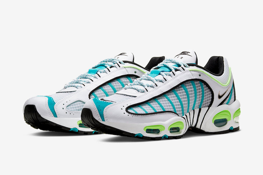 Nike Air Max Tailwind 4 IV White Teal Men's Shoe