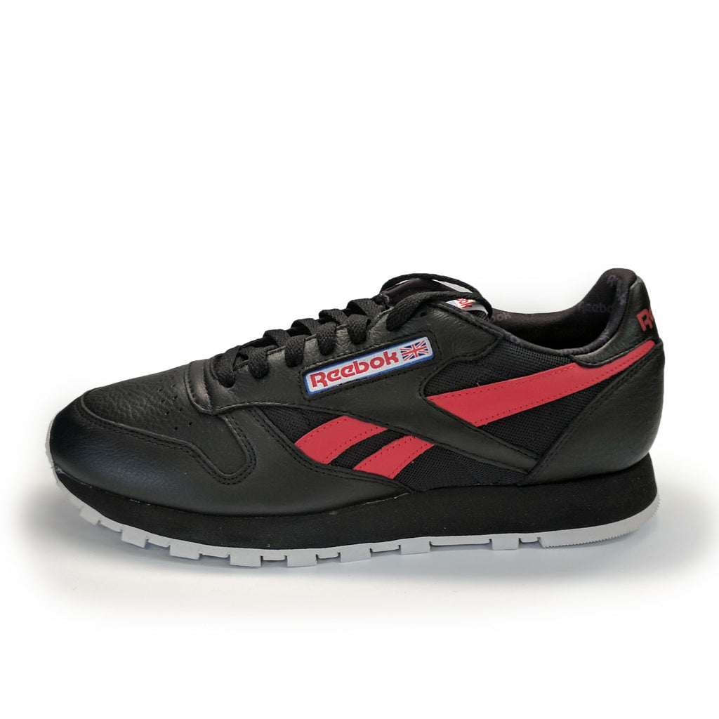 Reebok Classic Leather Men (Black/Red)