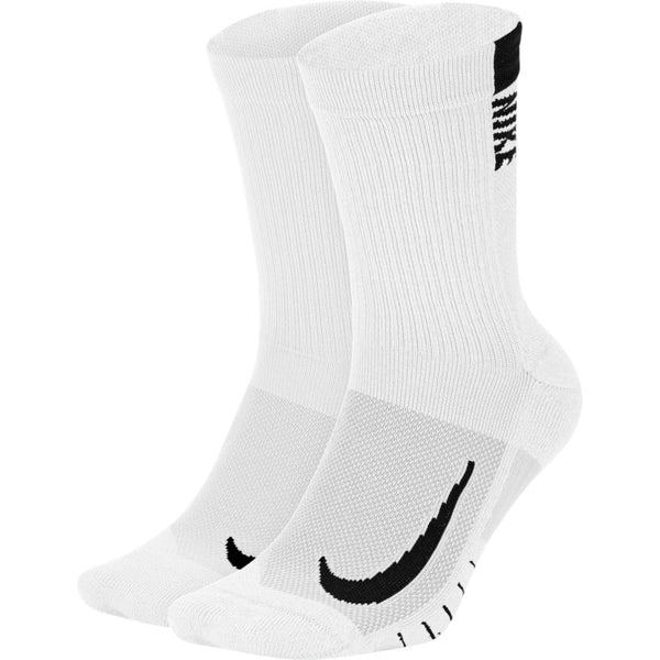 Nike Multiplier Crew Sock (2 Pairs)