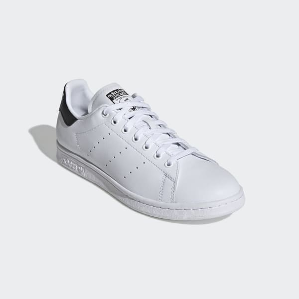 Adidas Men's Stan Smith Cloud White and Core Black Shoes | Active ...