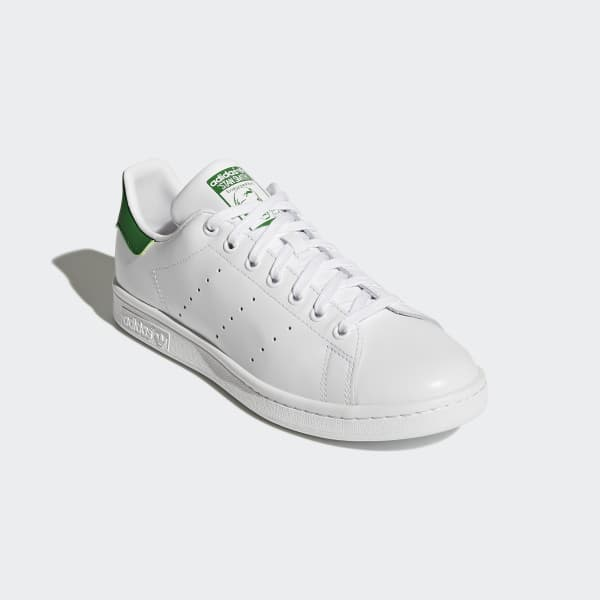 Adidas Stan Smith White & Green Tennis Shoes