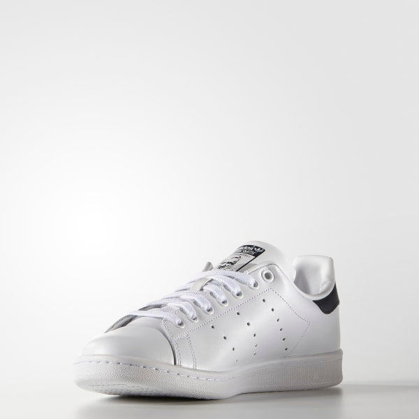 Adidas Stan Smith Core White and Dark Blue Men's Shoes