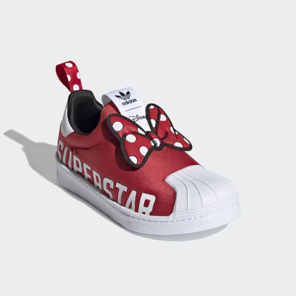 "Adidas Superstar 360 X ""Minnie Mouse"" Shoes"