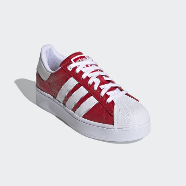 Adidas Superstar Bold Shoes - Red