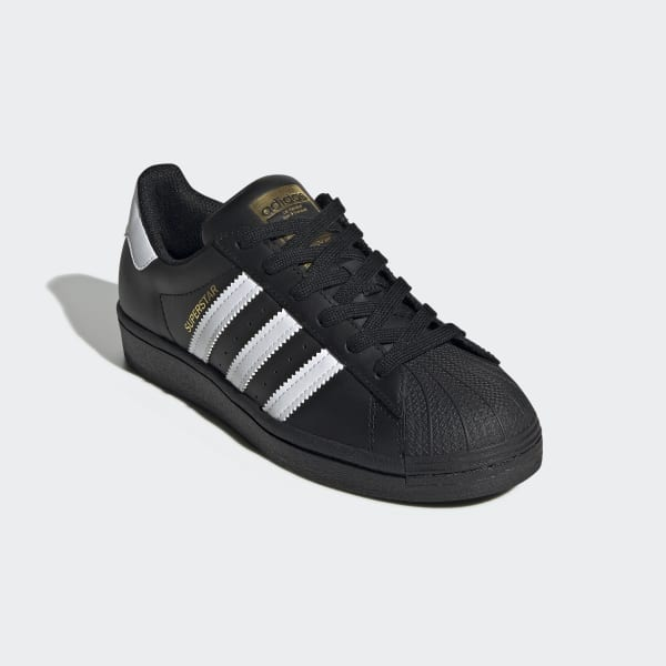Adidas Superstar Black Shoes (GS)