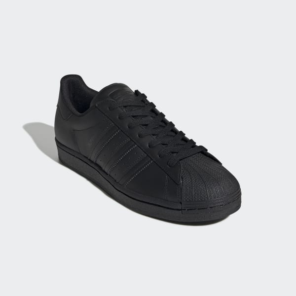 Adidas Superstar All Black Shoes